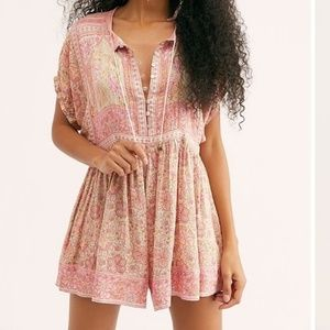 NEW Spell & The Gypsy Poinciana Romper L